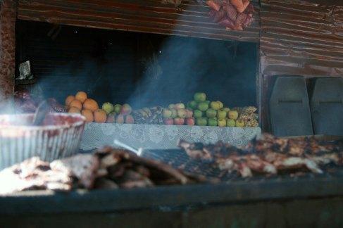smoky fruit